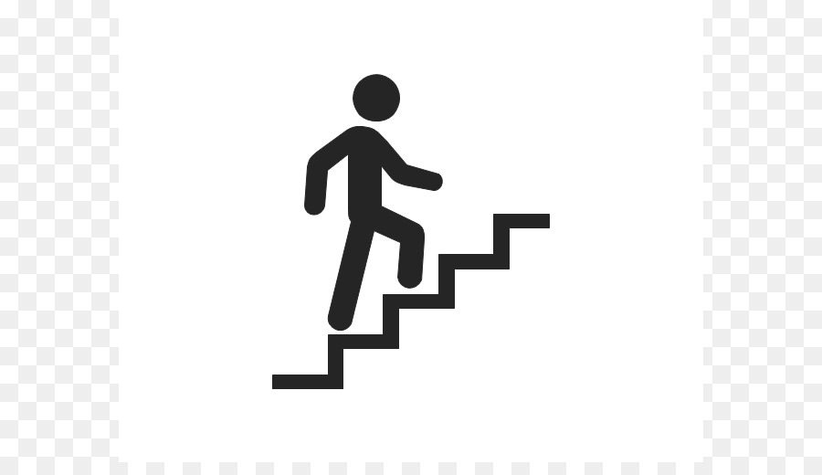 Walking up stairs clipart svg free stock Woman Cartoon png download - 640*506 - Free Transparent Stairs png ... svg free stock