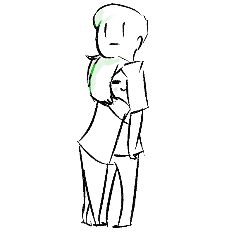 Clingy clipart graphic comic hug comics hugging akemijo im not clingy srs u gaiz akemijo ... graphic