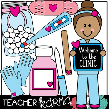 Clinic pictures clipart banner black and white stock School Nurse & Clinic Clipart banner black and white stock