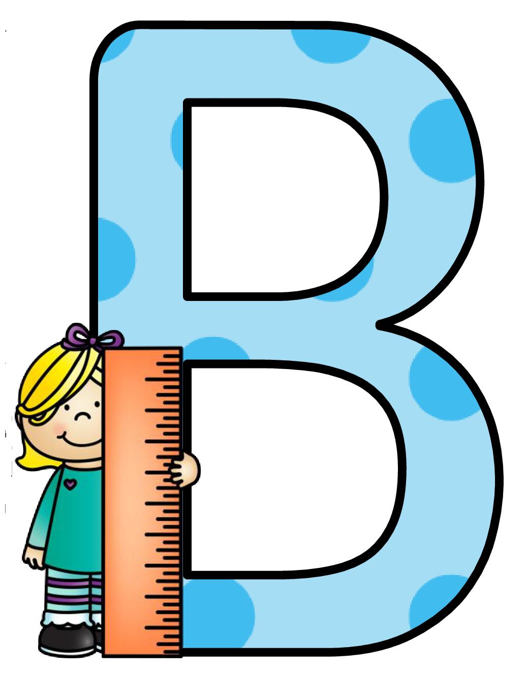 Clipart alphabet letters for kids. Ch b alfabeto escolar