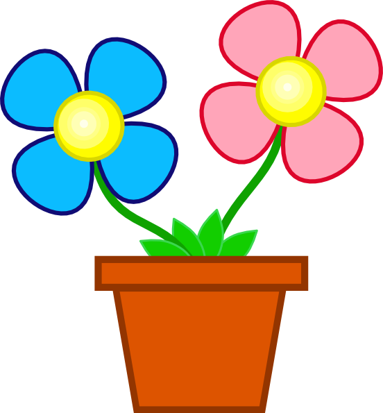 Cracked flower pot clipart svg transparent download Clipart animated flowers - ClipartFest svg transparent download