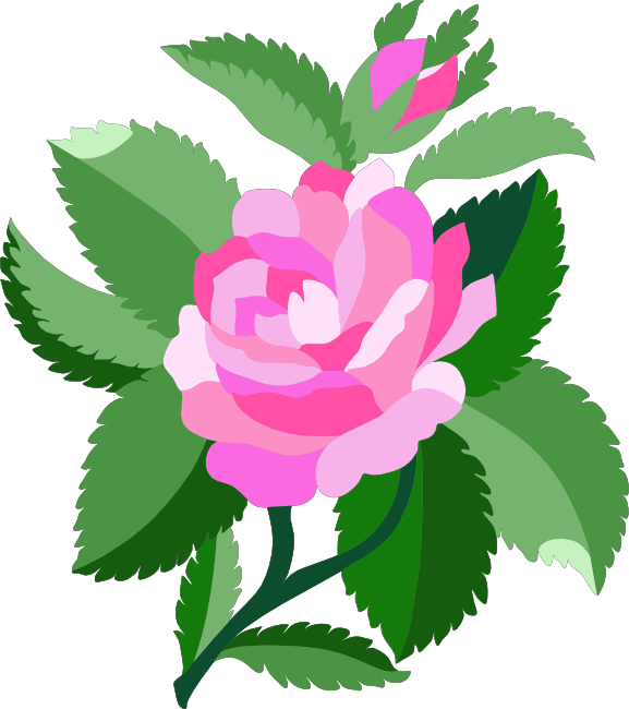 Clipart of rose flower svg stock Free Rose Clipart, Animations and Vectors svg stock