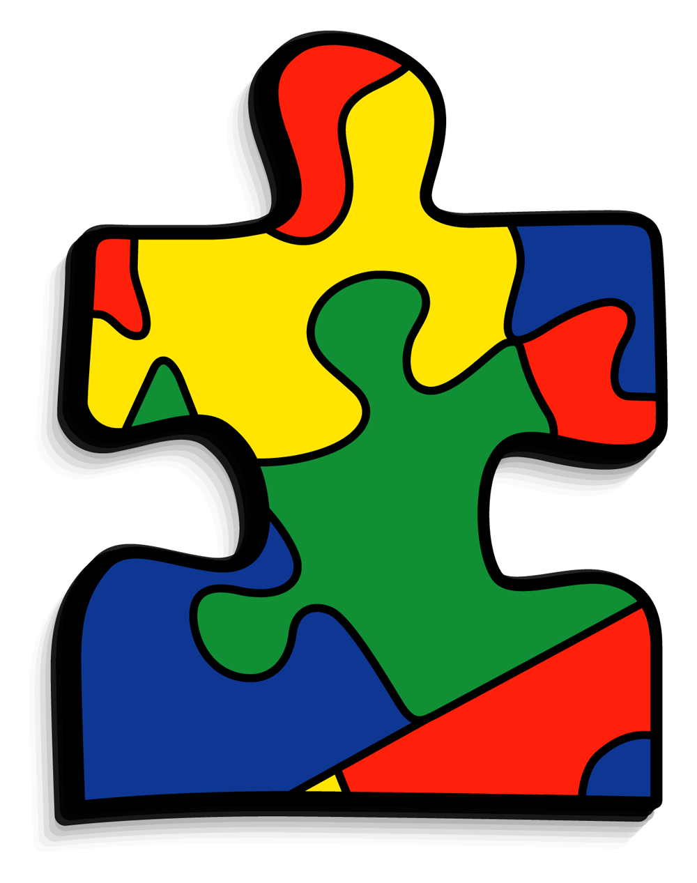 Clip art autism svg library download Train for FREE at CMB Karate West Windsor NJ for Autism and ADHD ... svg library download