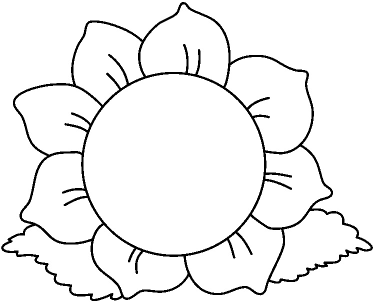 Clip art black and white svg transparent library Black And White Clipart Flowers & Black And White Flowers Clip Art ... svg transparent library