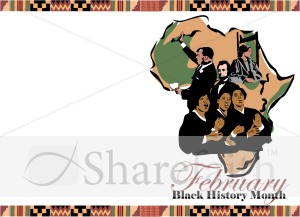Clip art black history month graphic free library Black History Month Borders Clipart - Clipart Kid graphic free library