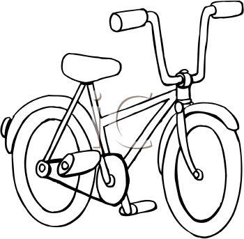 Clip art black white jpg freeuse Bike Black And White Clipart - Clipart Kid jpg freeuse