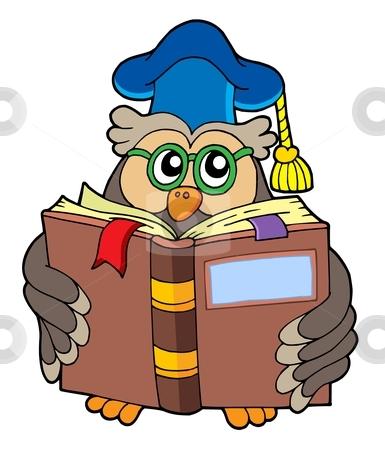 Clip art books for teachers png library library teacher owl clip art cutcaster photo 100361400 Owl teacher reading ... png library library