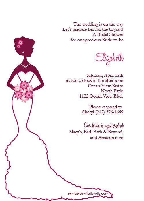 Clip art bridal shower clip art stock Wedding Shower Invitation Clipart - Clipart Kid clip art stock
