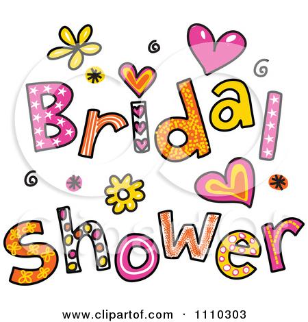 Clip art bridal shower. Wedding graphics clipart