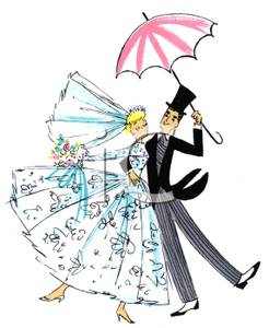 Umbrella clipartfest the bride. Clip art bridal shower