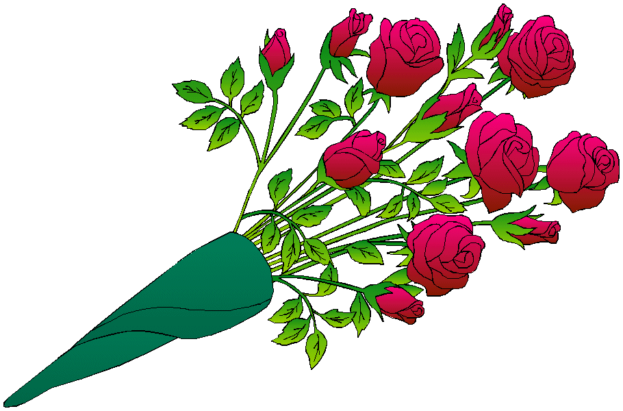 Bouquet free clipartfest wedding. Clip art bunch of flowers