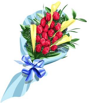 Clip art bunch of flowers. Bouquet download arts page