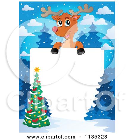 Clip art christmas borders. Royalty free rf clipart