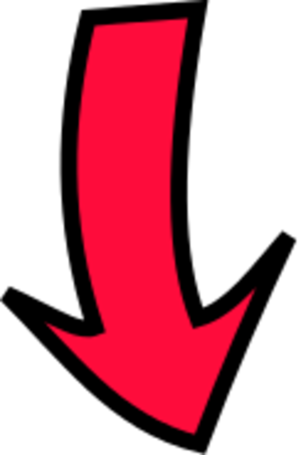 Clip art down arrow svg library download Arrow pointing down clipart - ClipartFest svg library download
