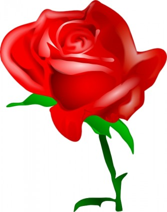 Clip art download free. Clipart red rose vector