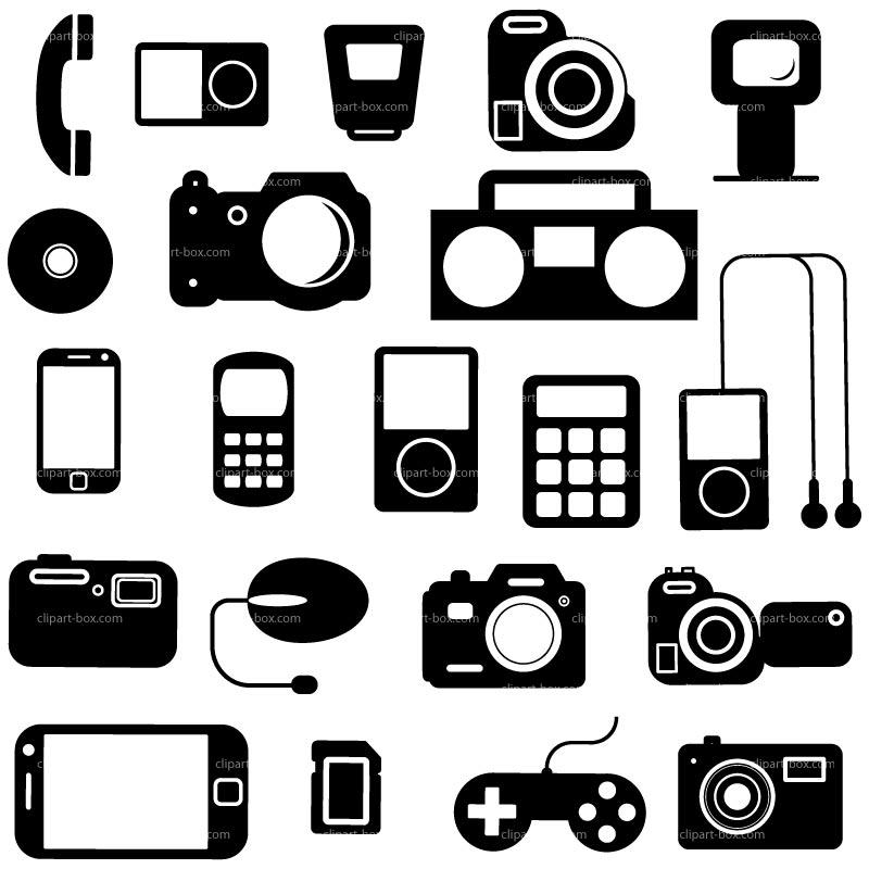 Clip art electronics. Clipart kid icons jpg