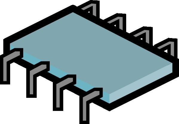 Clipart kid micro chip. Clip art electronics