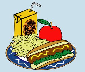 Clip art essen und trinken.  kostenlose clipart public