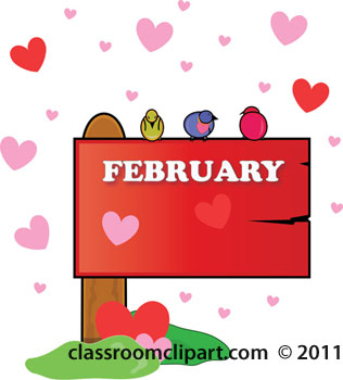 Clip art february images library Free february clipart - ClipartFest library