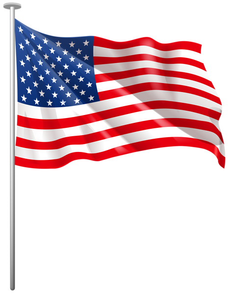 Clip art flags us svg free stock Us flag american flag united states clipart 2 2 - Clipartix svg free stock