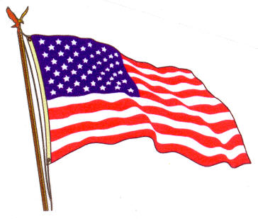 Clip art flags us. American flag free usa