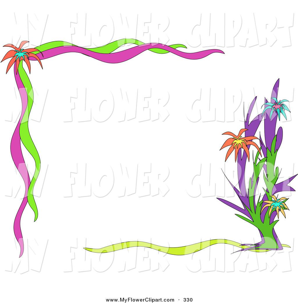 Clip art floral borders transparent Free floral clipart borders - ClipartFest transparent