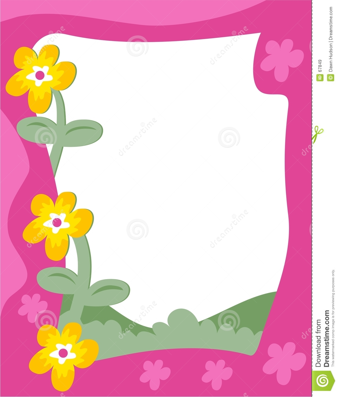 Clip art floral borders png library Flower Border Clipart | Clipart Panda - Free Clipart Images png library