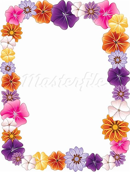 Clip art floral borders library Floral clip art borders free - ClipartFest library