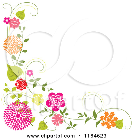 Clip art floral borders svg royalty free library Clipart floral borders free - ClipartFest svg royalty free library