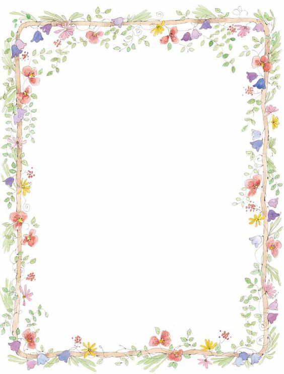 Clip art floral borders svg transparent download Free Flower Border Clip Art | we are here to witness the marriage ... svg transparent download