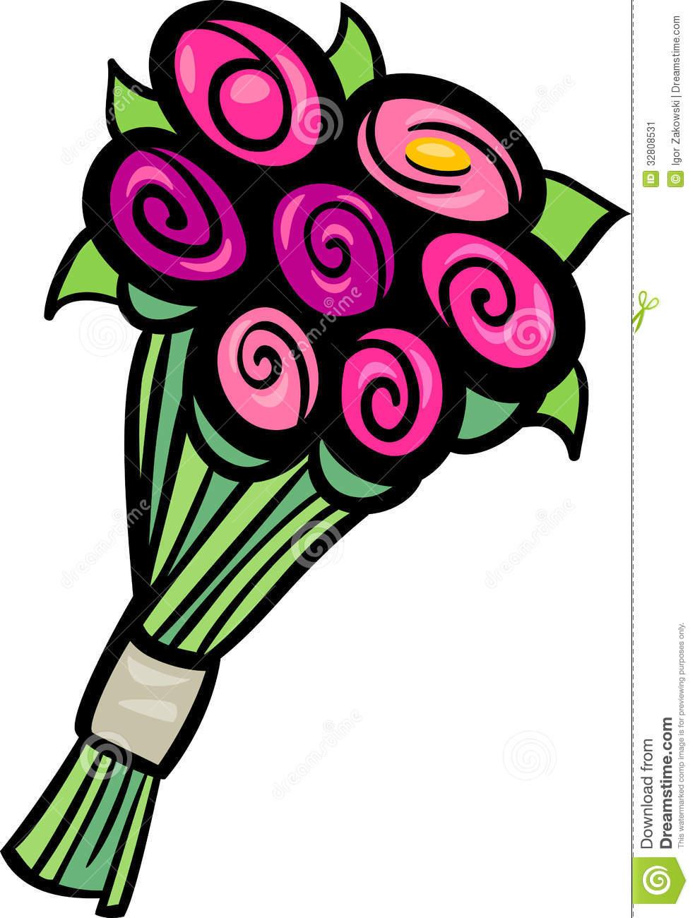 Black and white clipart. Clip art flowers bouquet