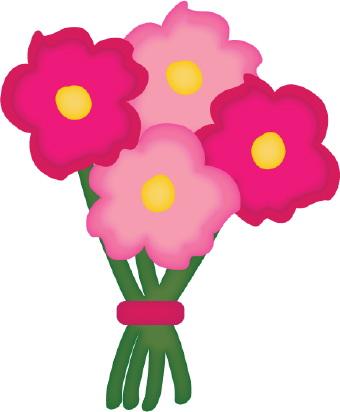 Clipart clipartfest flower. Clip art flowers bouquet