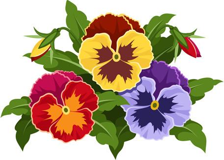 Flower free vector download. Clip art flowers bouquet