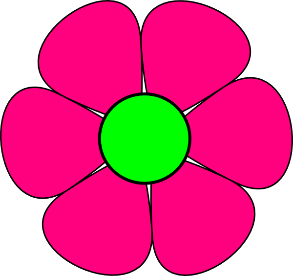 Panda free images flowers. Flower in clipart