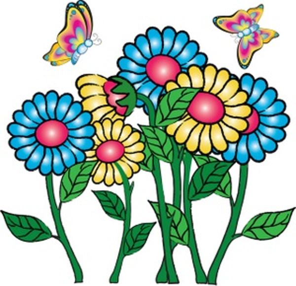 Clip art flowers free. Images clipartall com and