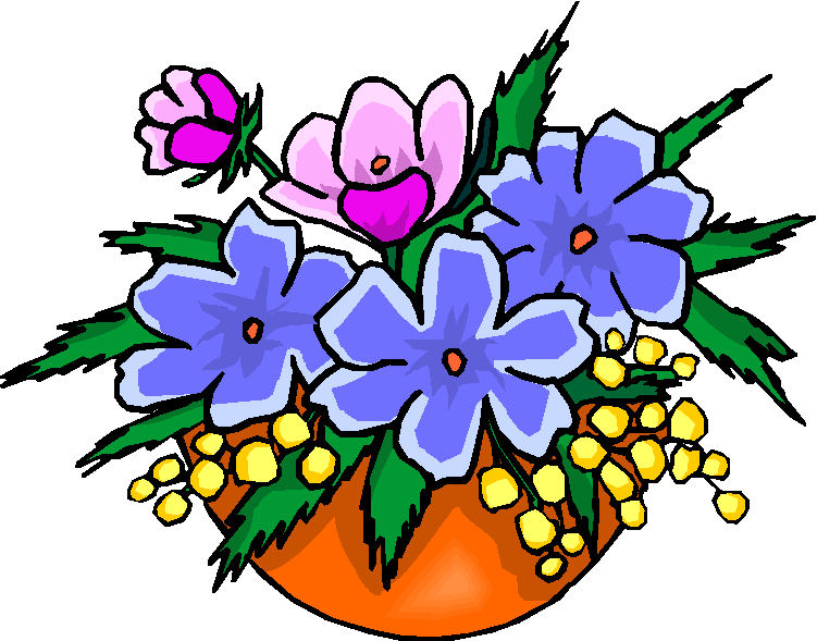 Clip art flowers free clipart library download Flowers free clip art - ClipartFest clipart library download