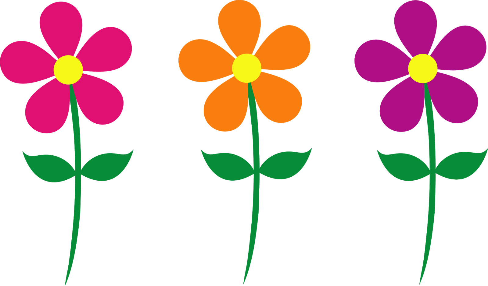 Spring flowers free pictures clip free Thank You Flowers Clipart | Clipart Panda - Free Clipart Images clip free