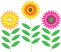 Clip art flowers free. Clipart pictures graphics illustrations