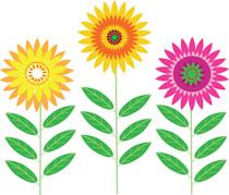 Clip art flowers free clipart transparent Free Flowers Clipart - Clip Art Pictures - Graphics - Illustrations clipart transparent