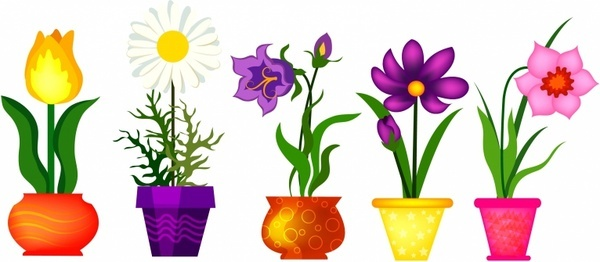 Clip art flowers pictures svg black and white download Spring flowers clip art free vector download (210,279 Free vector ... svg black and white download