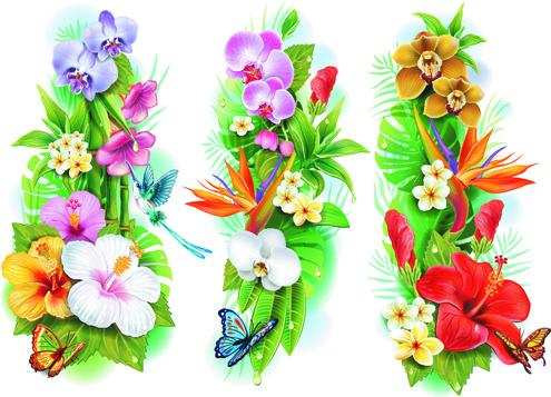 Clip art flowers pictures svg transparent download Flower border clip art free vector download (210,277 Free vector ... svg transparent download