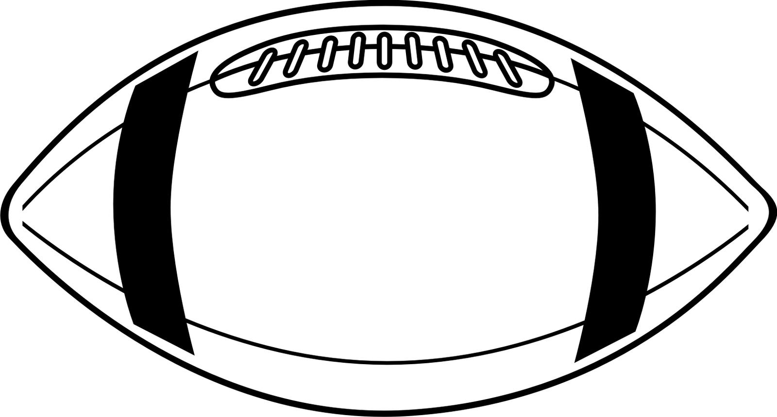Clip art for football banner black and white stock Football Outline Clip Art & Football Outline Clip Art Clip Art ... banner black and white stock