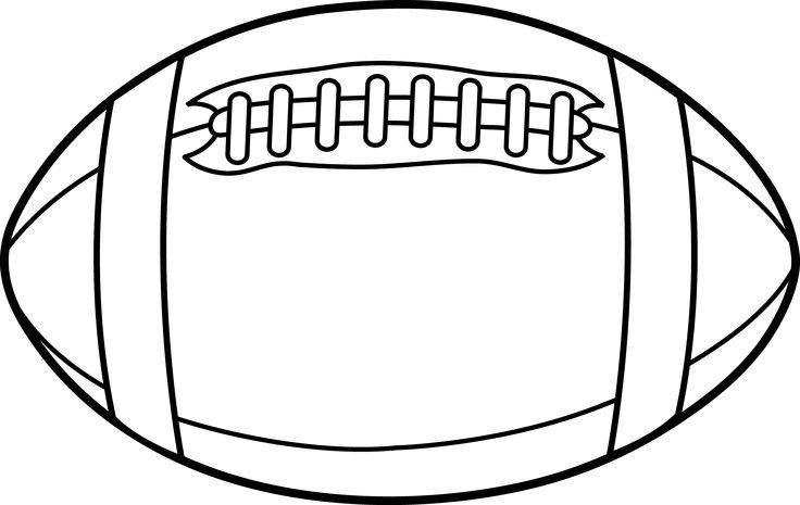 Clip art for football vector freeuse Football Outline Clip Art & Football Outline Clip Art Clip Art ... vector freeuse