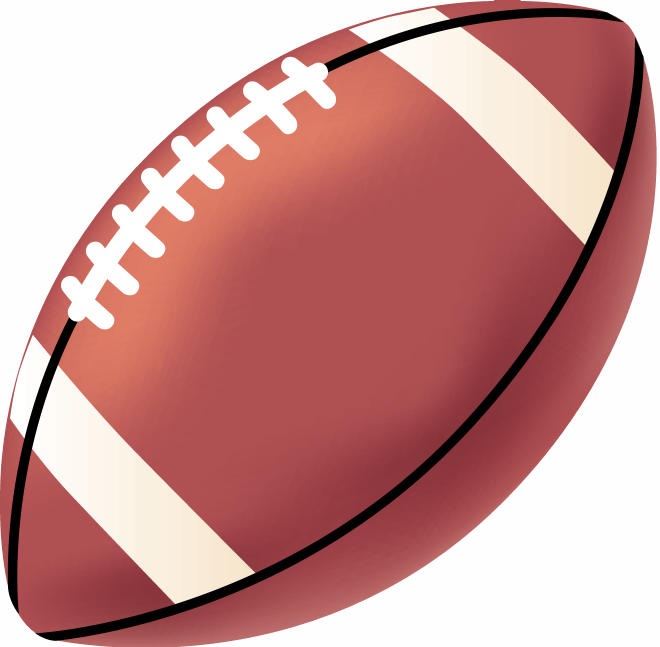 Clip art for football clipart library Free clipart football images - ClipartFest clipart library