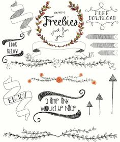 Clip art for free download vector royalty free library Free Laurel Clip Art ... Girly, Cute, and FREE | Typography ... vector royalty free library