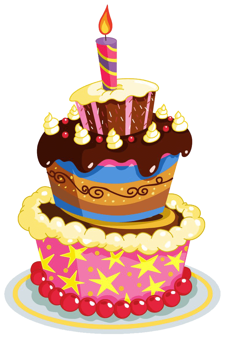 Clip art free birthday cake graphic library stock Birthday Cake Layers transparent PNG - StickPNG graphic library stock
