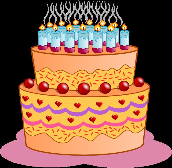 Clip art free birthday cake freeuse stock Birthday cake clip art free freeuse stock