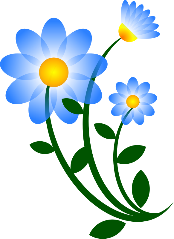 Flower clipart kid png. Clip art free flowers