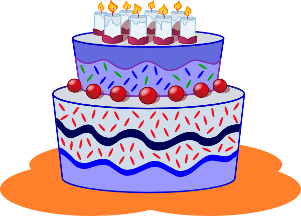 Clip art geburtstag 11 banner library Freephile Cake Clip Art at Clker.com - vector clip art online ... banner library