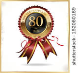 Clip art geburtstag 80 vector free Cliparts zum 80 geburtstag - ClipartFox vector free